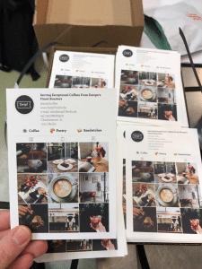 Листовка для кофейни