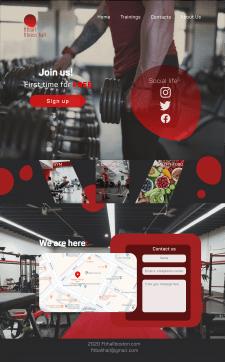Landing Page | Gym