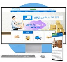 WordPress CMS Сайт сервис перевозки (США Georgia)
