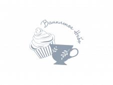 """Логотип пекарни """"Ванильное небо"""""""
