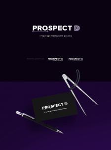 Логотип студии архитектурного дизайна Prospect D