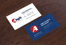 Anglo - Business card