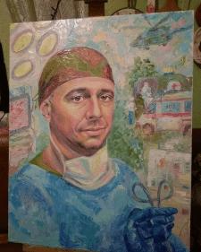 портрет военного хирурга