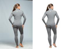 Каталоговая обработка одежды