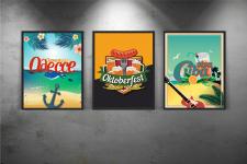 Дизайн афиш/постеров/плакатов