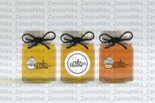 Визуализация фирменных баночек мёда