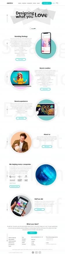 перерисовка дизайна сайта
