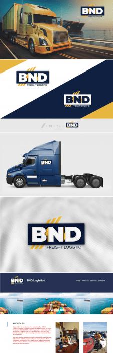 Логотип для BND logistic