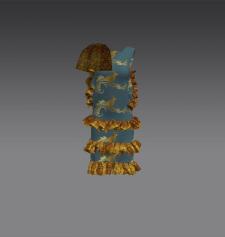 Разработка платьев 3д