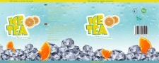 Этикетка холодного чая