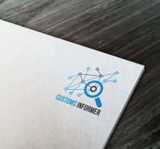 Дизайн логотипа для отслеживания грузов