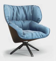 3d модель кресла Tabano