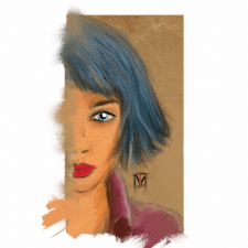 Blue girl 2017