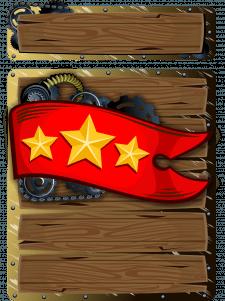 Табличка для игры в стиле стимпанк
