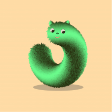 Furry worm