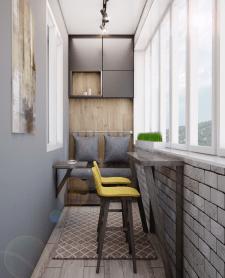 дизайн и визуал.балкона