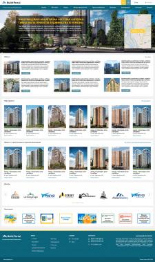 Дизайн портала недвижимости