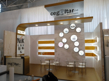 Cegoltar - expo stand