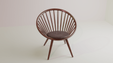 Lemieux et Cie Laurent Spindle Chair