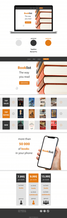 Landing Booklist