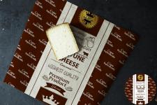 Дизайн упаковочной бумаги для сыров