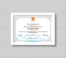Сертификат для канадской программы