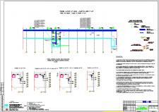 План кабельных трасс подвала здания