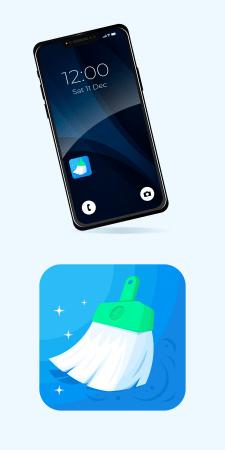Іконка для мобільного додатку Clean Master