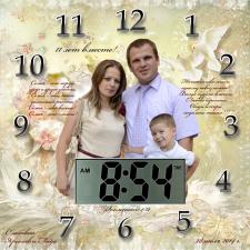 Циферблат для подарочных часов