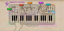 Сайт музыкальной группы qwertyfingers