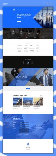 Дизайн главной страницы | Harizma
