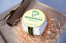 Наклейка на сыр Моцарелла