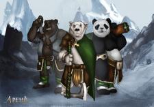 Разработка персонажей к игре