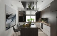 Кухня-гостиная в доме
