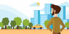 Иллюстрация для сайта о поиске недвижимости
