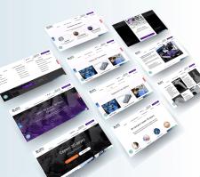 Розробка дизайну сайту для 3D студії