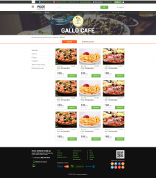 Страница портала по ресторанам