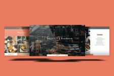 Landing page для кафе-пекарня