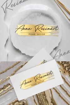 Логотип Аnna_Resinart