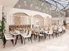 Концепт ресторана ОАЭ