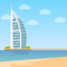 Ілюстрація на тему Дубай
