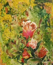 Цветущий гранат