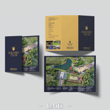 Design brochure Equides Club