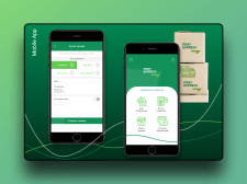 Mobile App. Courier delivery servis
