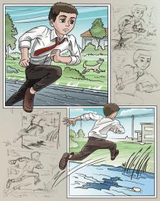 Иллюстрации для комикса