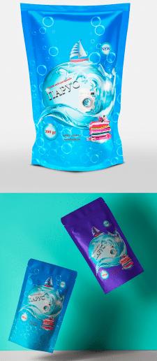 дизайна упаковки дой-пака