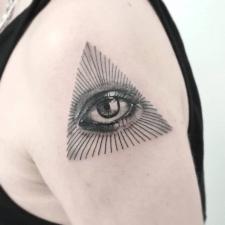Всевидящее око allseeing eye