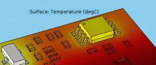 Расчет тепловых режимов элементов конструкций