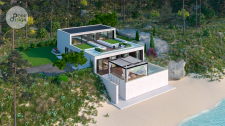 Проект дома на побережье Италии