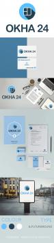 Фирменный стиль компании ОКНА 24
